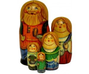 100 - Matryoshka Russian Dolls
