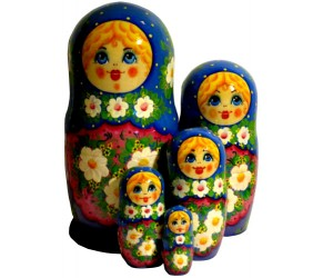 114 - Matryoshka Russian Dolls