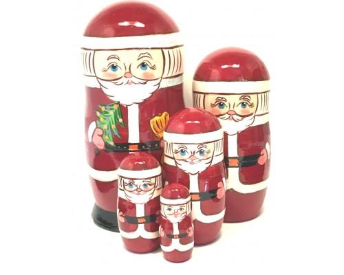 1222 - Matriochka Poupées Russes Père Noël