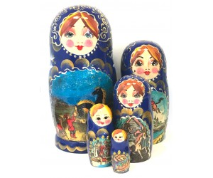 1311 - Matriochka Poupées Russes Conte