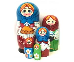 1315 - Matriochka Poupées Russes Miche de Pain