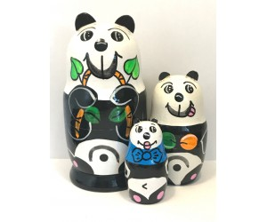 1370 - Matriochka Poupées Russes Panda