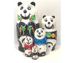1374 - Matriochka Poupées Russes Panda