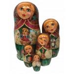 1483 - Matryoshka Russian Nesting Dolls Toys