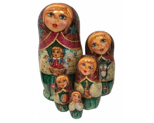 1483 - Matriochka Poupées Russes Jouets