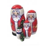 1592 - Matryoshka Russian Nesting Dolls Santa Claus
