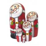 1594 - Matryoshka Russian Nesting Dolls Santa Claus