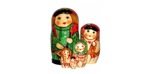 593 - Matriochka  Poupées Russes