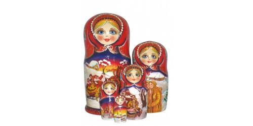 596 - Matriochka  Poupées Russes