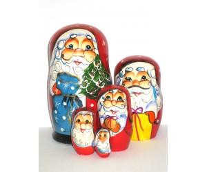 751 - Matriochka Poupées Russes Père Noël