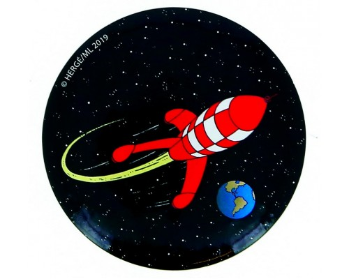 Aimant Fusée Tintin