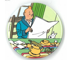 Aimant Tintin et son Journal