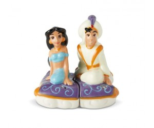 Jasmine and Aladdin Salt and Pepper Shakers