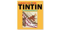 Cahier à Colorier Jaune Tintin