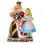 Alice et la Reine de Coeur Disney Tradition Jim Shore