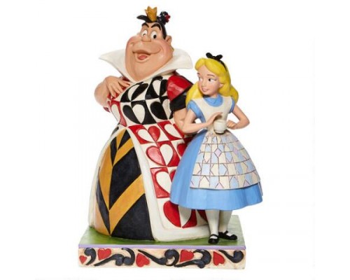 Alice et la Reine de Coeur Disney Tradition Jim Shore