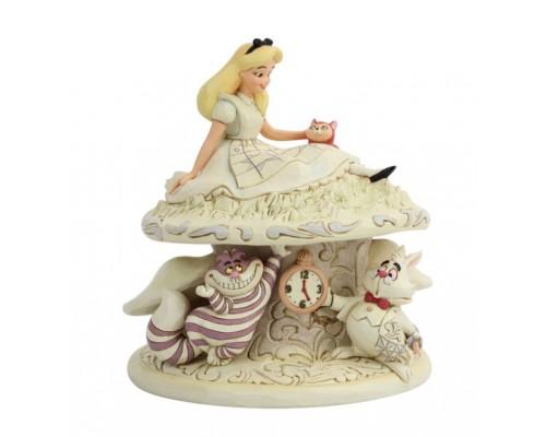 Alice au Pays des Merveilles Jim Shore Disney Tradition