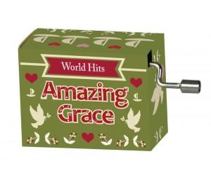 Amazing Grace #267 Hand Crank Music Box