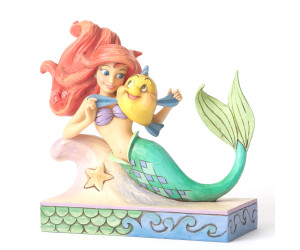 Ariel et Flounder - Jim Shore Disney Traditions