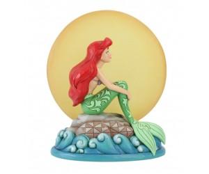 Ariel Sitting on Rock by Moon Disney Tradition