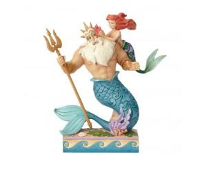 Ariel et Triton Jim Shore Disney Tradition