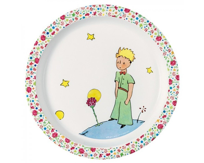 La Rose Plate The Little Prince Boutique Brin De Folie
