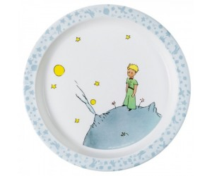 Blue Plate - St-Exupery The Little Prince