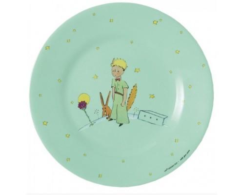 Assiette à Dessert Verte Le Petit Prince