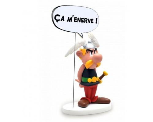 Statuette Astérix Bulle Ça M'Énerve !