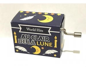 Au Clair de la Lune #277 Handcrank Music Box