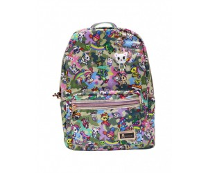 Camo Kawaii Large Backpack Tokidoki