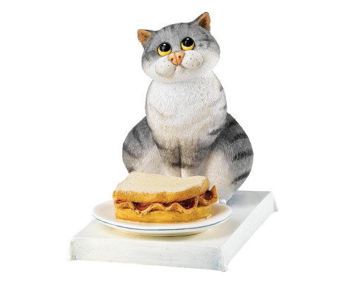 Bacon Butty - Figurine Comic and Curious Cats