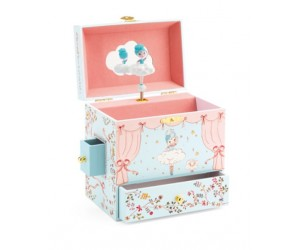 Ballerina on Scene Musical Jewelry Box