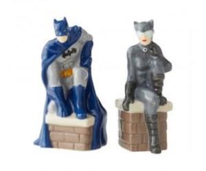 Batman et Catwoman Salière et Poivrière