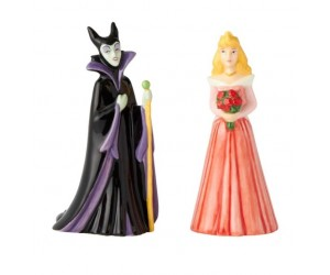 The Beauty and Maleficent Salt and Pepper Shakers