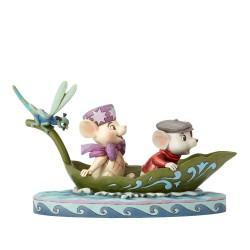 Bernard et Bianca - Heartwood Jim Shore Disney Tradition