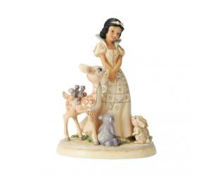Blanche Neige et Animaux Jim Shore Disney Tradition