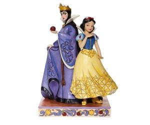 Blanche neige et la Méchante Reine Jim Shore Disney Tradition