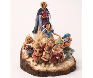 Blanche Neige et les Sept Nains Jim Shore Disney Tradition