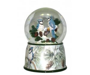 Blue Jays - Musical Snowglobe