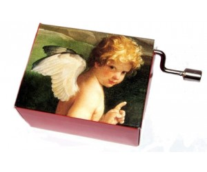 Angel #100 - Handcrank Music Box