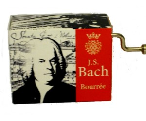 Bourree Bach #186 - Handcrank Music Box