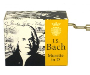 Bach #187 - Handcrank Music Box
