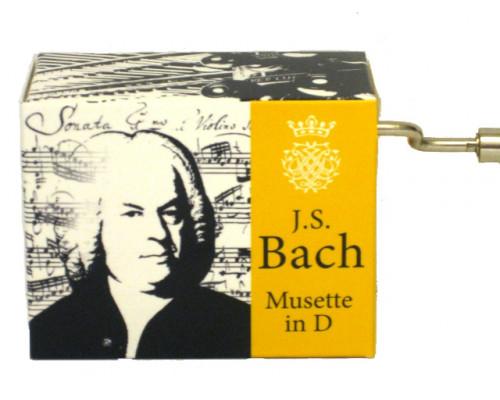 Musette en Ré Bach #187 - Boîte à Musique à Manivelle