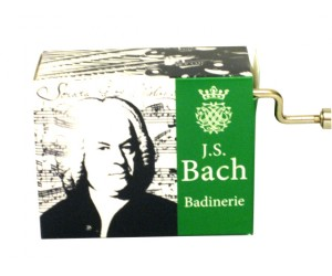 Badinerie Bach #188 - Handcrank Music Box