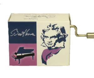 Beethoven #190 - Handcrank Music Box