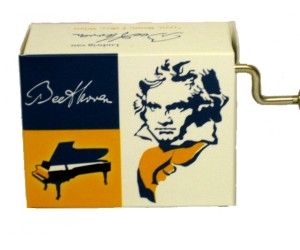 Bagatelle Beethoven #191 - Handcrank Music Box