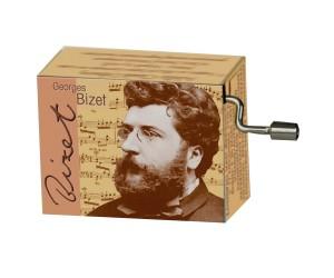 Carmen Bizet #106 - Handcrank Music Box