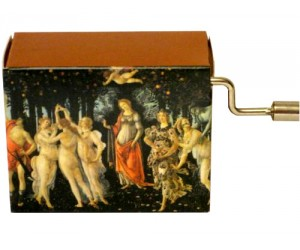 Boticelli - Primavera #109 - Handcrank Music Box