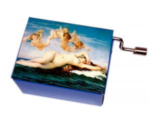 Cabanel #115  - Handcrank Music Box